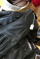 Alpaca Gloves, Leather Black Alpaca Lined, XL.S,L