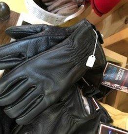 Choice Alpacas Alpaca Gloves, Leather Black Alpaca Lined, XL.S,L