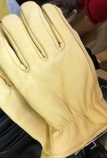 Choice Alpacas Alpaca Gloves, Tan Leather,Lined XL, XXL