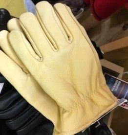 Alpaca Gloves, Tan Leather, Alpaca-Lined XL, S,L, XXL