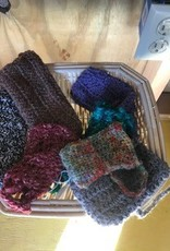 Alpaca Bags, Crocheted, Multicolor Sm eyeglass/phone