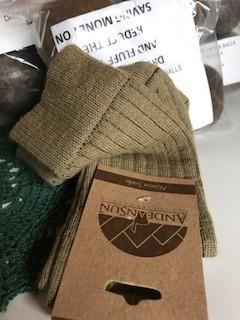Alpaca Socks, Women's  Camel Pants Socks