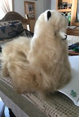"Andean Art Alpaca Stuffed, 12"" Fawn, Mixed ,Cushed"