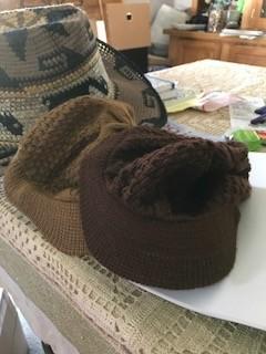 Alpaca Hat, Billed, Brown