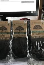 Alpaca Socks, Therapeutic Unisex Large Black