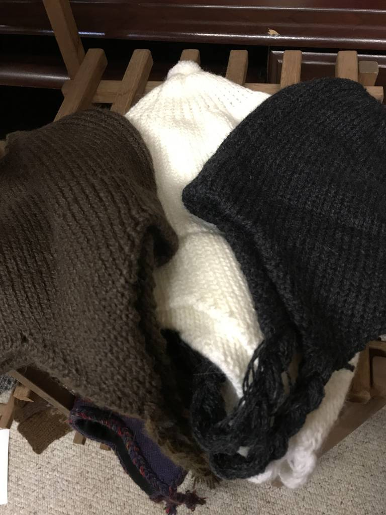 Alpaca Hat, Chullo Light weight Br,Wh,