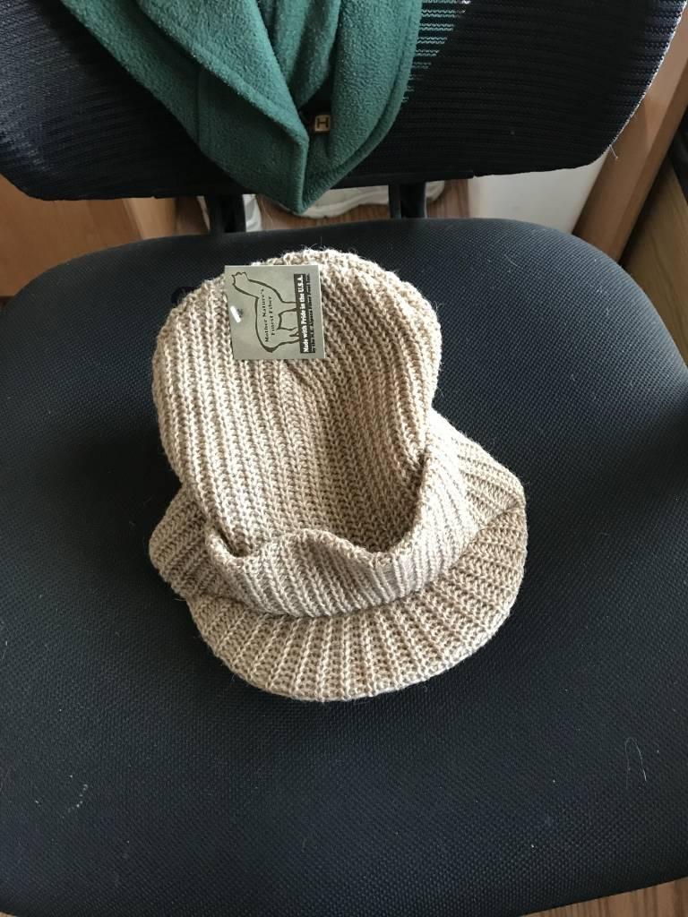 Alpaca Hat, Mash Hat with Bill