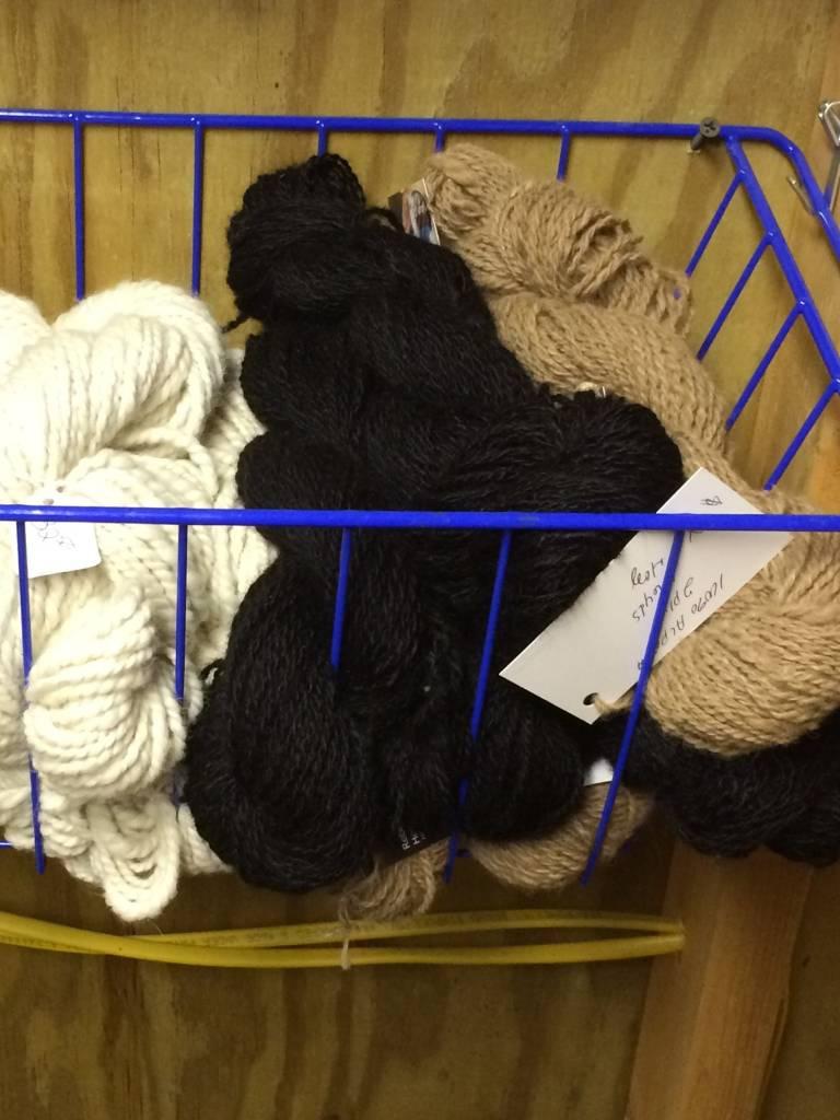 Alpaca Yarn, Onyx DK 2 ply 103y Black