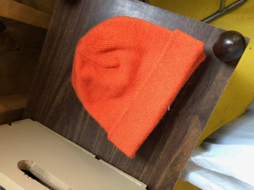 Alpaca Hat, Hunting Orange, Medium