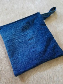 Hand Made Denim Pouch #2