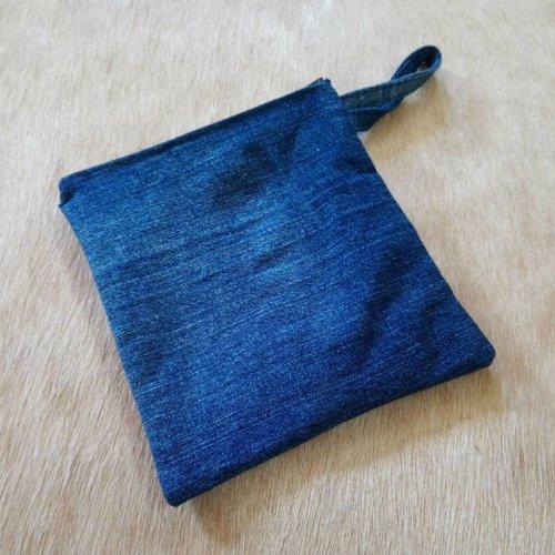 Hand Made Denim Pouch #2