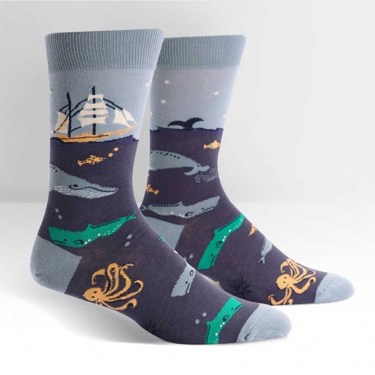 Sea Voyage Crew Socks
