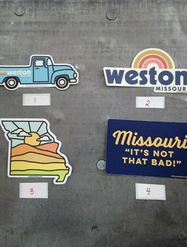 Weston Sticker