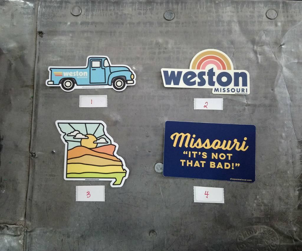Weston Sticker