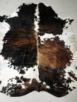 Brown Brindle Spotted Cowhide #2389