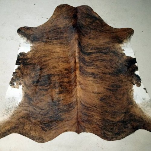 Brown Brindle Cowhide #2395