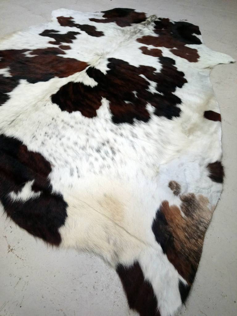 Brown, Black + White Cowhide #2392