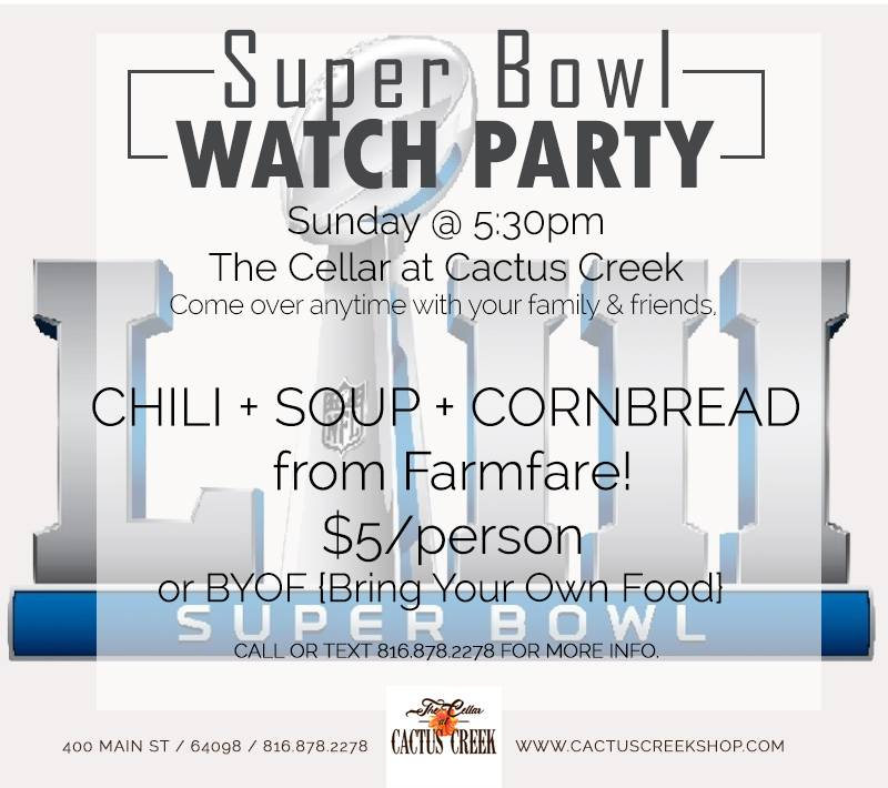Super Bowl 53 WATCH PARTY
