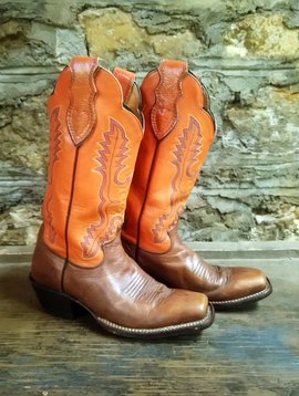Size 6.5 Women's Justin Cowboy Boots