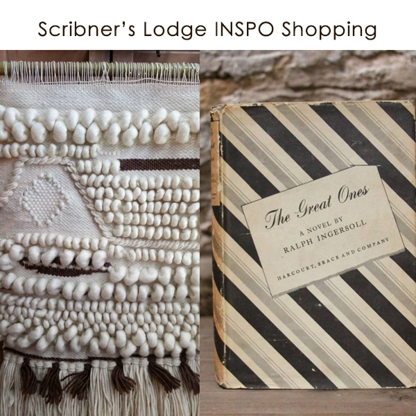 Scribner's Catskill Lodge Shopping INSPO