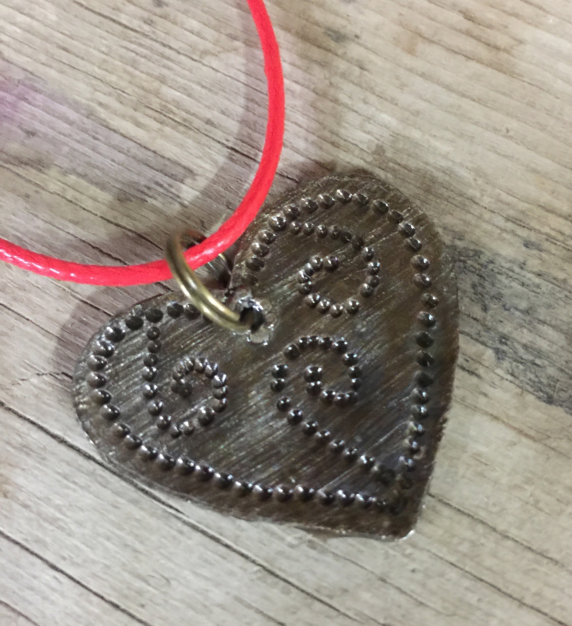 Haitian Heart Necklace