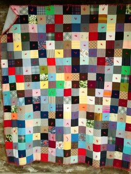 Handmade Patchwork Quilt #1