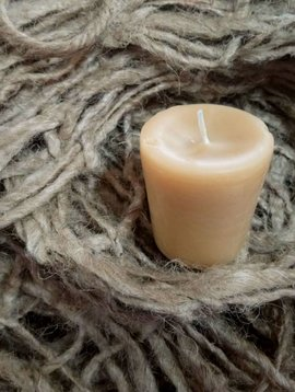 Cactus Creek Roll in the Hay Votive Candle