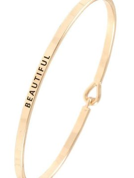Beautiful Gold Bangle Bracelet