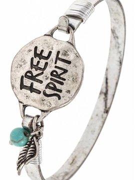 Free Spirit Bangle Bracelet