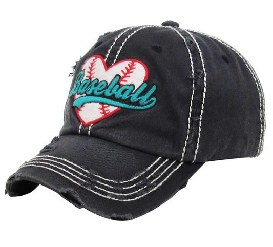 Baseball Love Cap