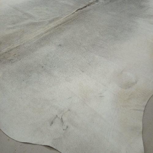 Gray + White Cowhide 2409
