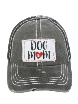 Dog Mom Ball Cap