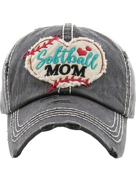 Softball Mom Ball Cap