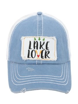 Lake Lover Ball Cap Blue