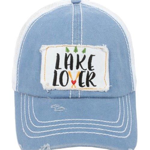Lake Lover Ball Cap Blue