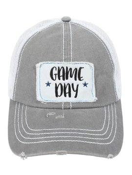 Game Day Ball Cap Gray