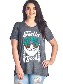 CURVY Feelin' Willie Good Top
