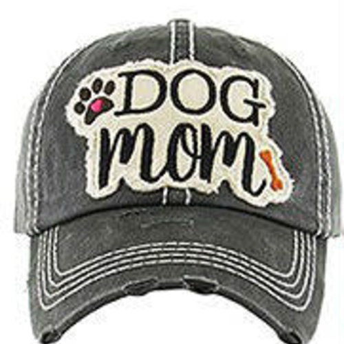 df68abfb9f1f6 Dog Mom Washed Vintage Ball Cap - Cactus Creek