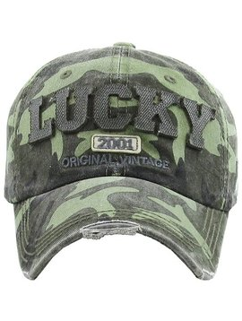 Lucky Camo Ball Cap