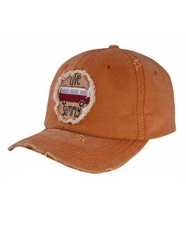 Live Simply Ball Cap Orange