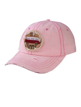 Live Simply Ball Cap Pink