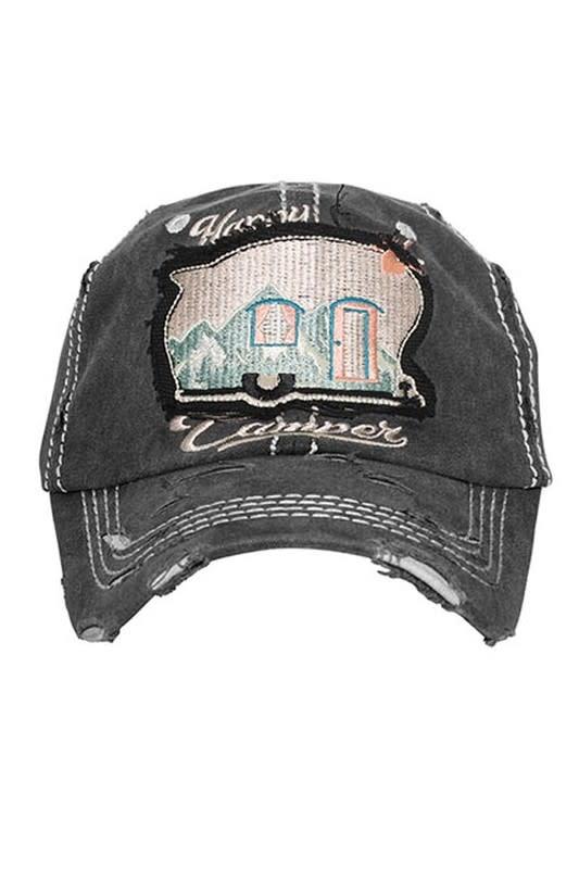 Happy Camper Scenic Mountain Ball Cap