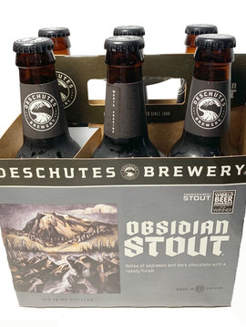 Obsidian Stout 6 Pack