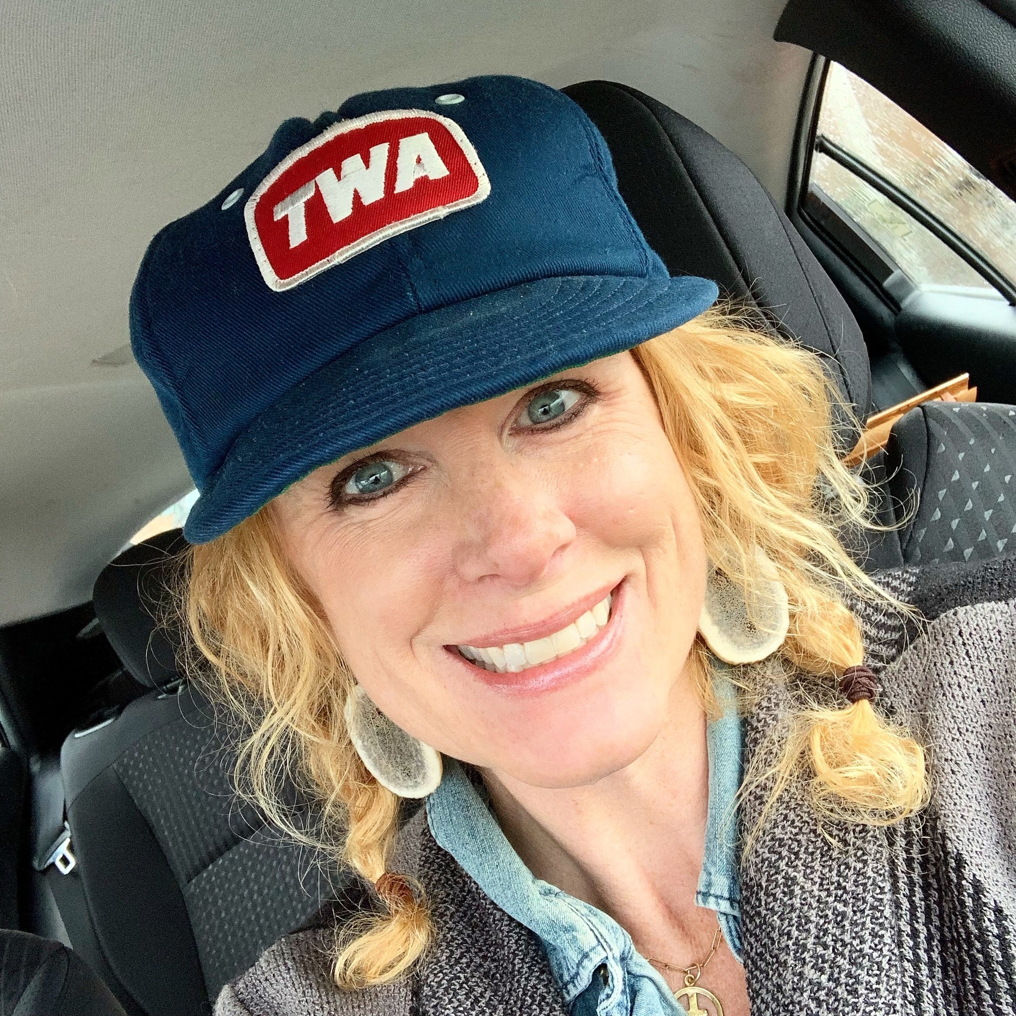Vintage TWA Ball Cap AND Links to Airline Museums + more in Kansas City