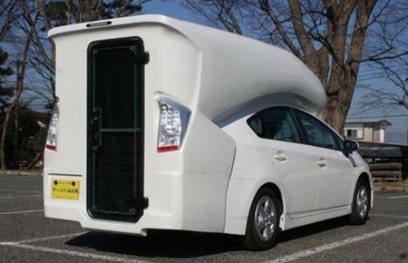Prius converted to RV