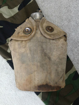 Vintage Military Canteen