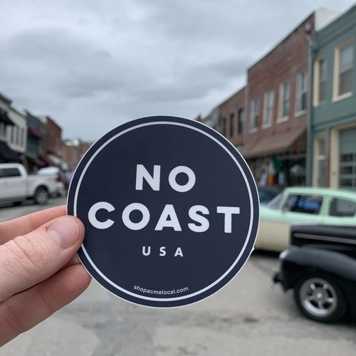 Cactus Creek No Coast USA Sticker