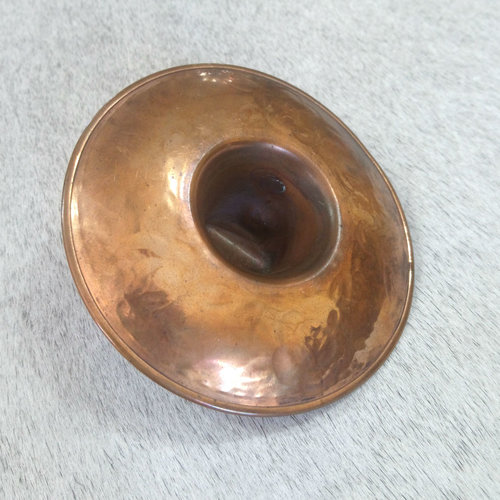 Vintage Copper Sombrero Ashtray
