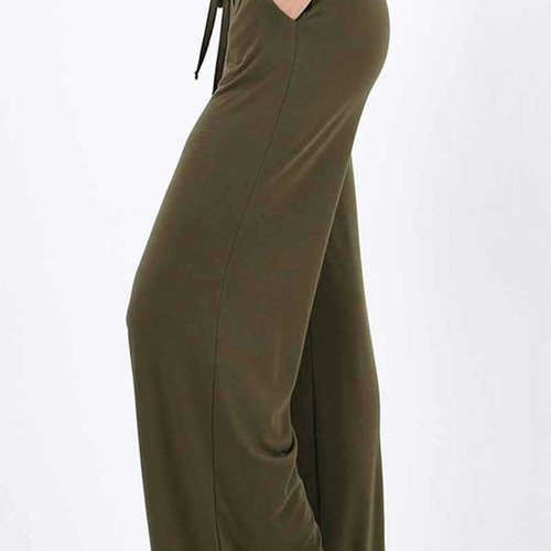 Olive Draw String Lounge Pants