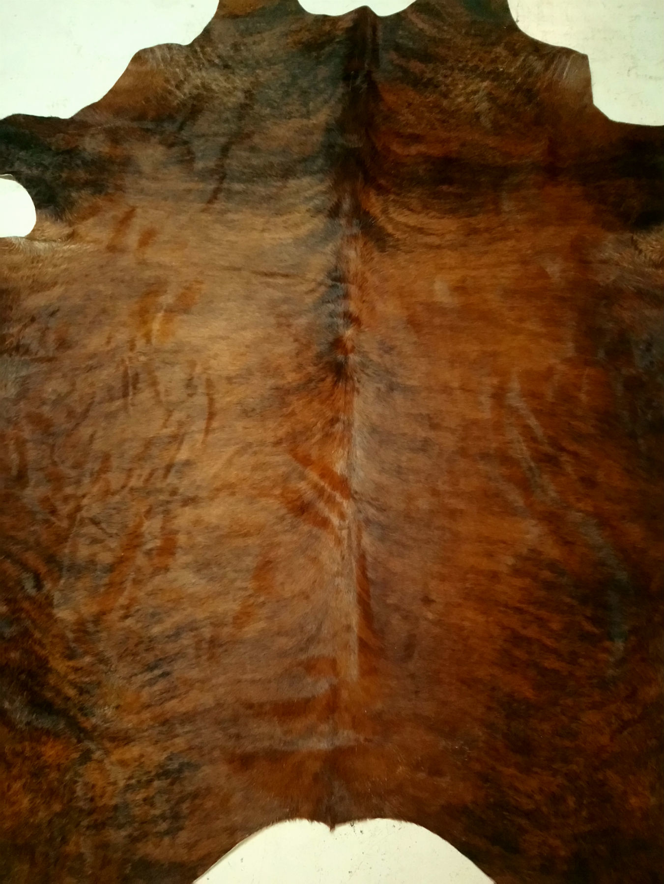 Red + Brown + Brindle Cowhide 2462